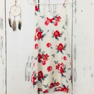 ROSE FLORALED DRESS!